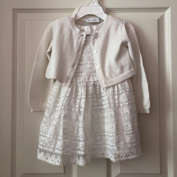 The Children's Place Toddler Dress & Cardigan